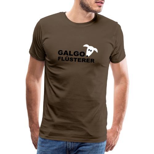 Galgoflüsterer - Männer Premium T-Shirt