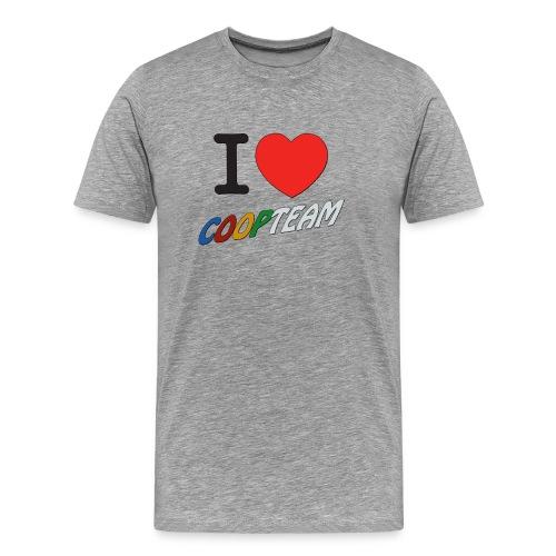 I love coop team - T-shirt Premium Homme