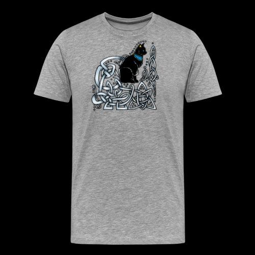 Celtic Cat - Men's Premium T-Shirt