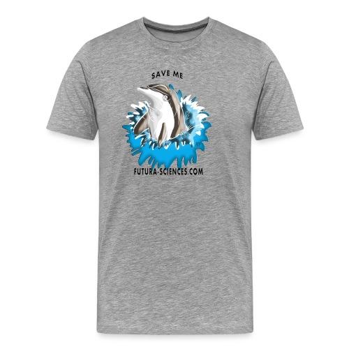 dauphin base 1 fs version 3 titre - T-shirt Premium Homme