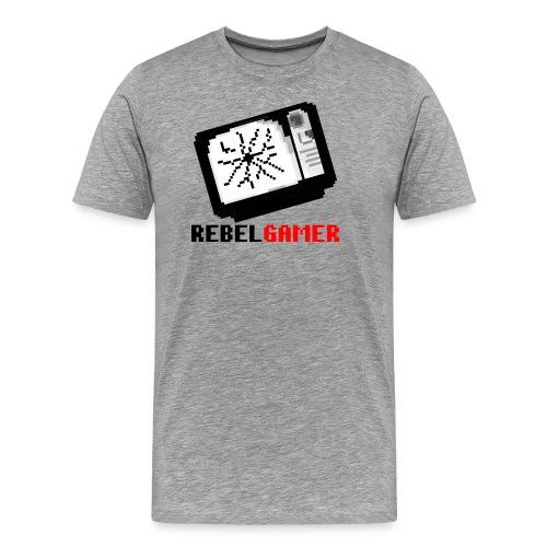 RebelGamer retroTV - Männer Premium T-Shirt