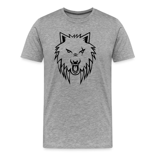Apollo Wolf Transparent - Men's Premium T-Shirt