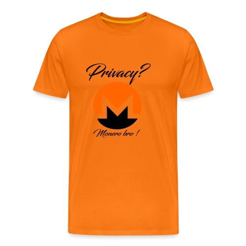 Moneroooo - T-shirt Premium Homme