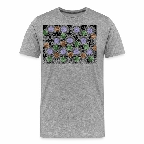 Floral illusion - Men's Premium T-Shirt
