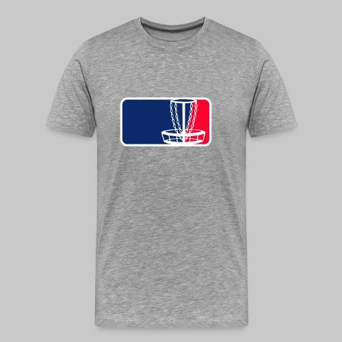Disc golf - Miesten premium t-paita