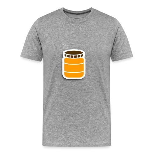 PindakaasBaas - Mannen Premium T-shirt