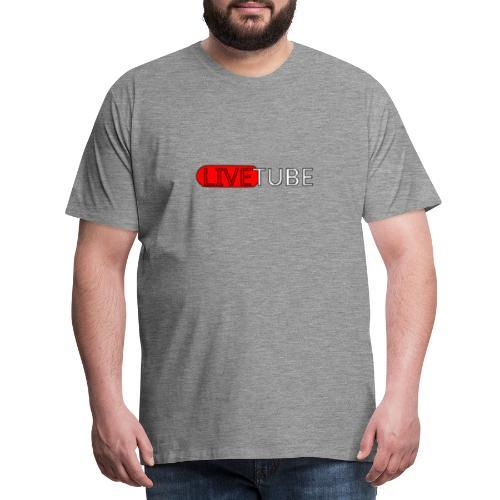 Livetube - Herre premium T-shirt