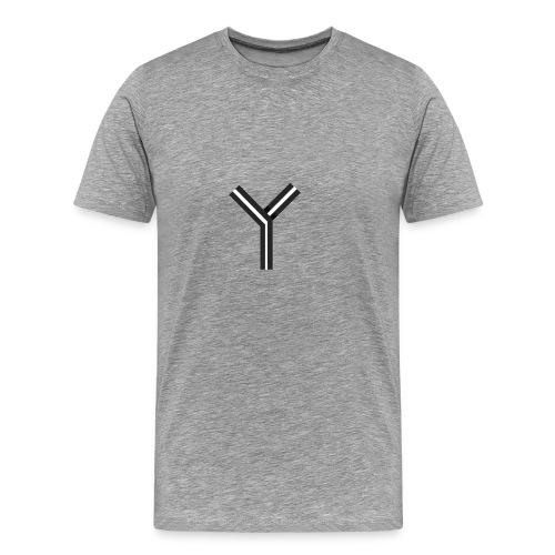 YTEE - Premium-T-shirt herr