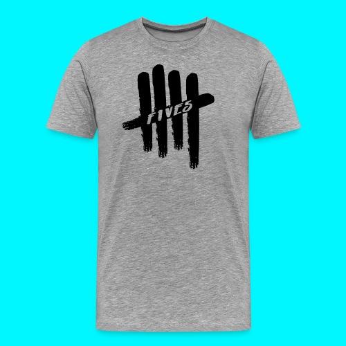 fives black 2 - T-shirt Premium Homme
