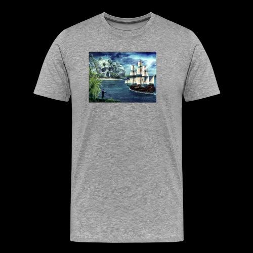 Isola - Maglietta Premium da uomo