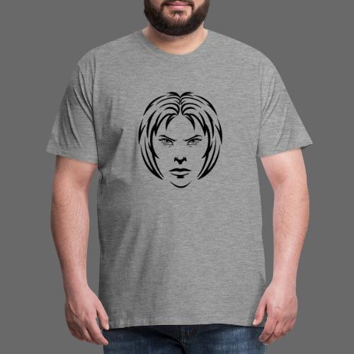 Angry woman - Männer Premium T-Shirt