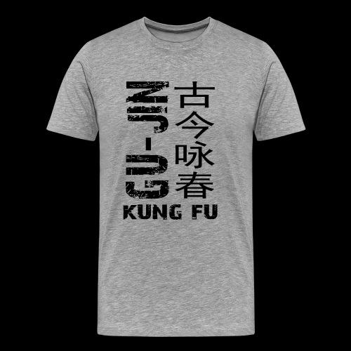 sidewaysgrayedlogo - Men's Premium T-Shirt