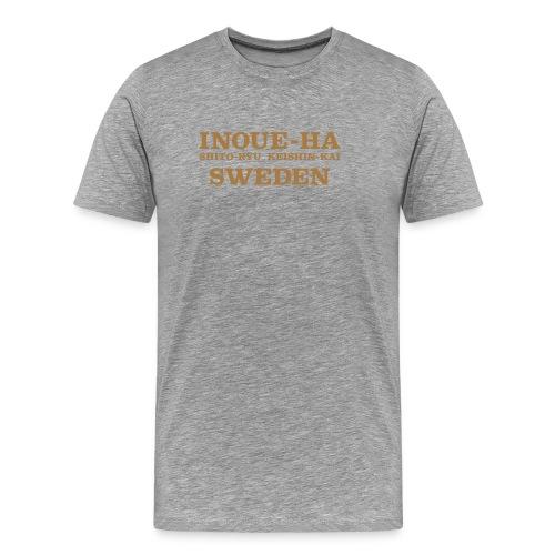 Sweden Inoue-ha Shito-ryu Keishin-kai -2 - Premium-T-shirt herr