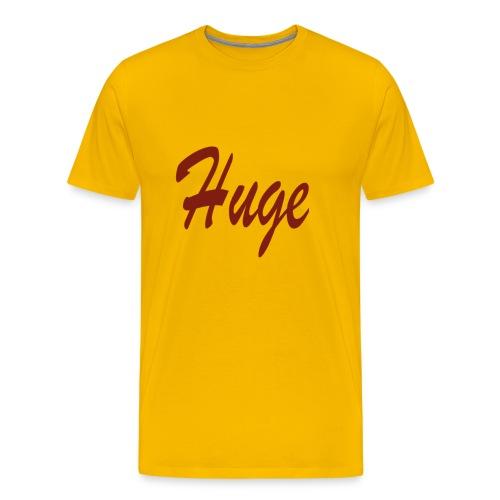 hugekleineletters png - Mannen Premium T-shirt