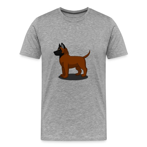 bébé malinois - T-shirt Premium Homme