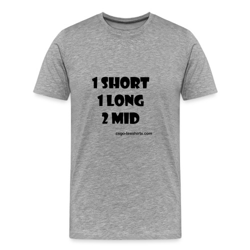 1 SHORT 1 LONG 2 MID - T-shirt Premium Homme