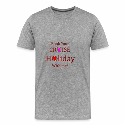Book your Holiday 1 - Men's Premium T-Shirt