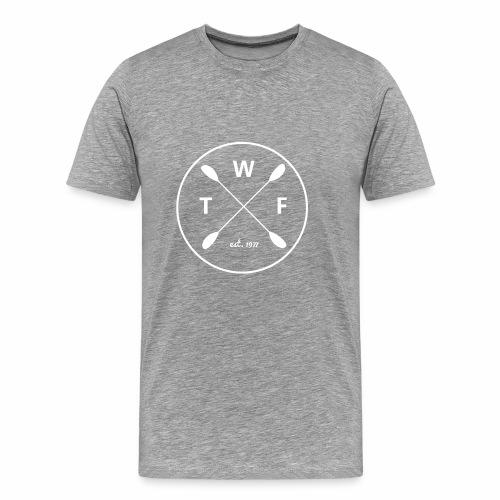 TWF Weiss - Männer Premium T-Shirt