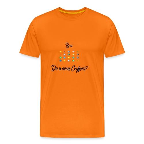 Crypto Bro - T-shirt Premium Homme