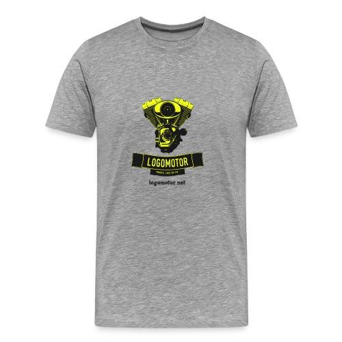logomotor logo - Männer Premium T-Shirt
