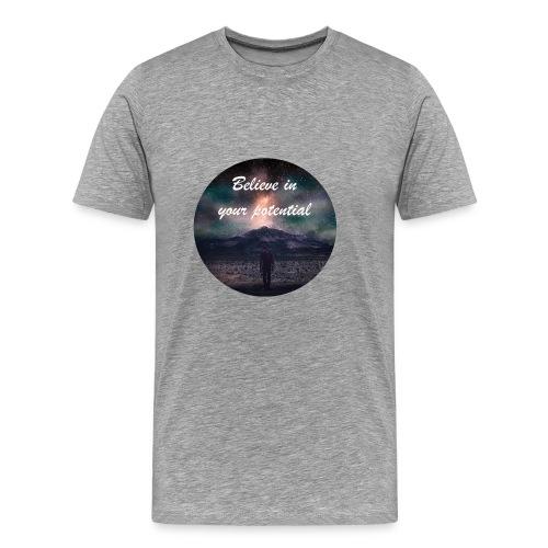 Believe in Your Potential - Men's Premium T-Shirt
