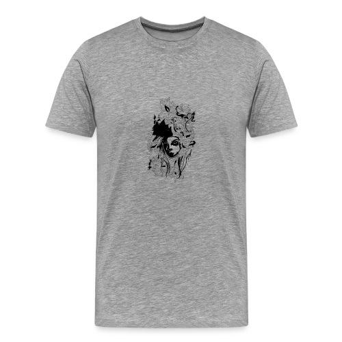 Akasacian tshirt design 611 - Camiseta premium hombre