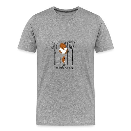 Lion running - T-shirt Premium Homme