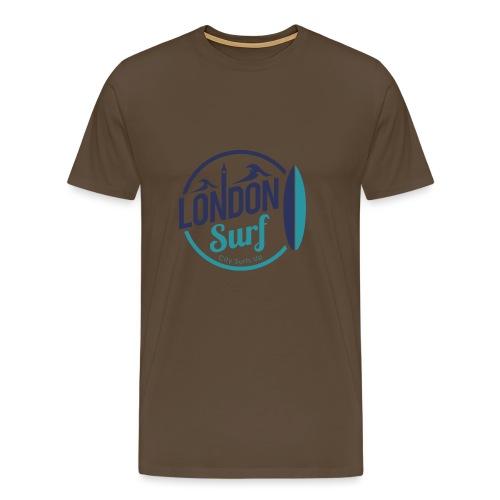 London Surf Classic Logo - Men's Premium T-Shirt