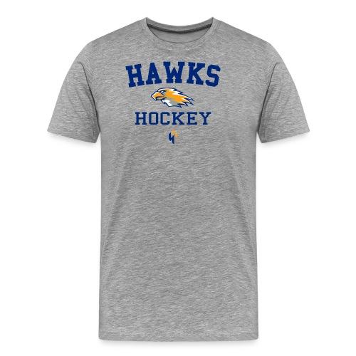 hawks hockey chest - Men's Premium T-Shirt