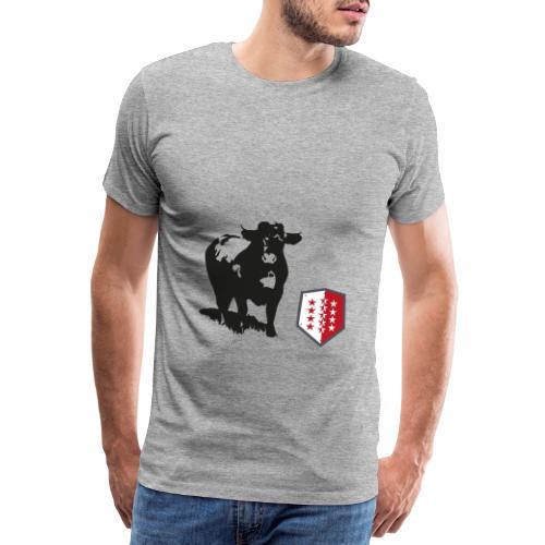 Vache - Cow - Männer Premium T-Shirt