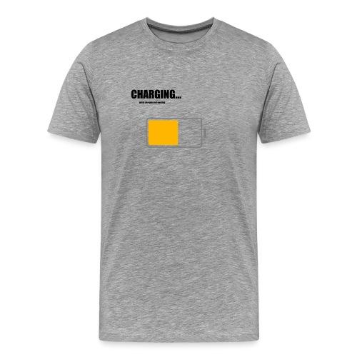 Charging - Männer Premium T-Shirt