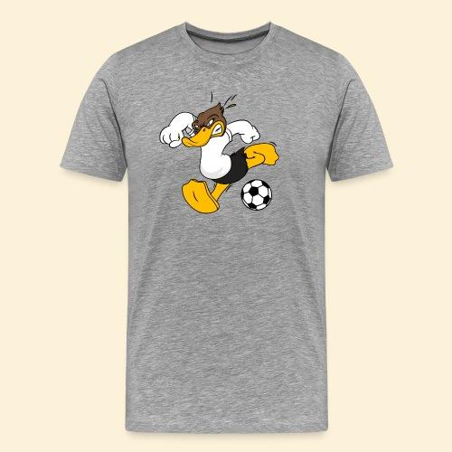 Fussball Ente - Männer Premium T-Shirt