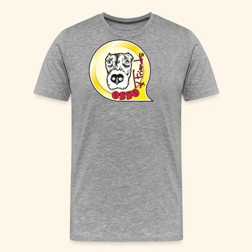 Osso4Friends official logo - Maglietta Premium da uomo