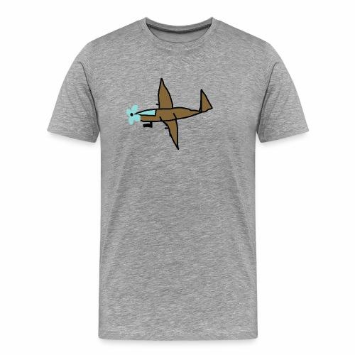 Stridsplan - Premium-T-shirt herr