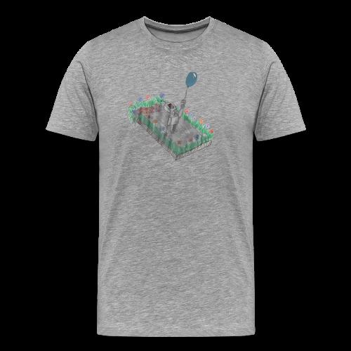 robotandflowers - Männer Premium T-Shirt