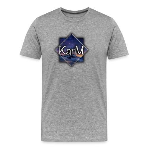 KarM Logo - Premium T-skjorte for menn