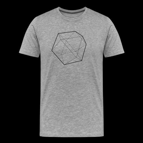 Minimal desing Geometrical Figures - Camiseta premium hombre