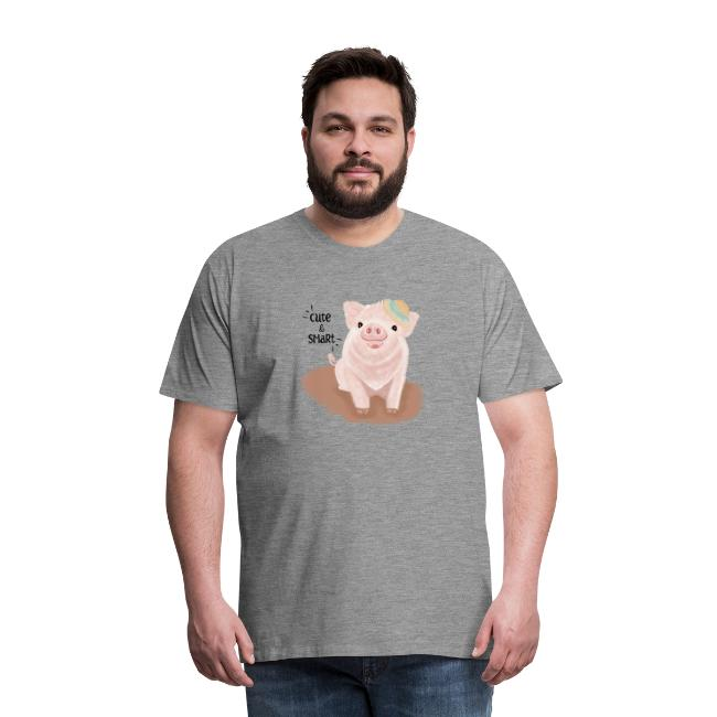 Cute & Smart Pig