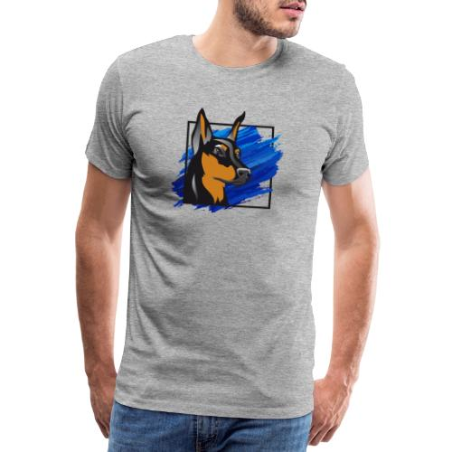 Dobermann - Männer Premium T-Shirt