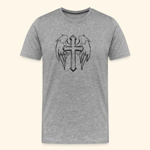 Faith and love - Men's Premium T-Shirt
