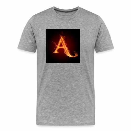 The letter A the letter a 22186960 2560 2560 - Men's Premium T-Shirt