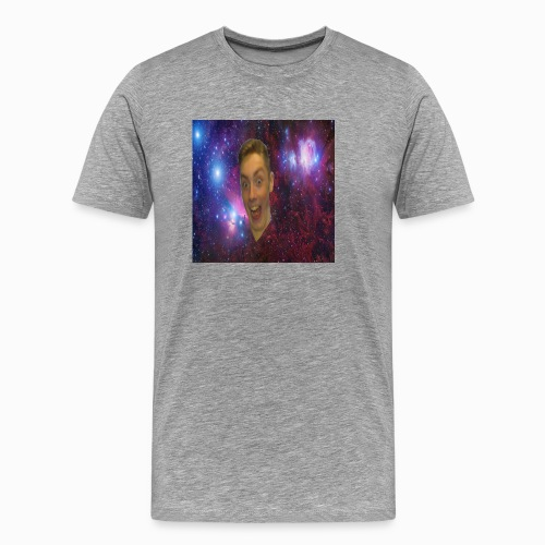 The face of a madman design - Men's Premium T-Shirt