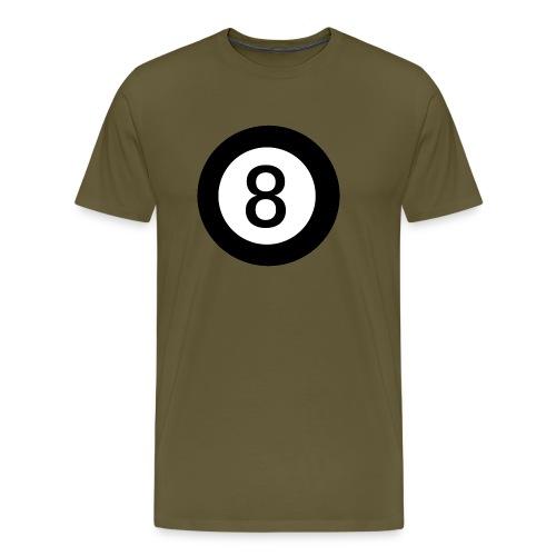 Black 8 - Men's Premium T-Shirt