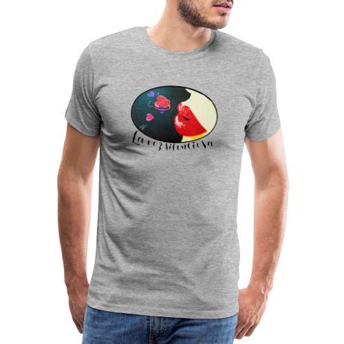 La Voz Silenciosa - Besos - Camiseta premium hombre