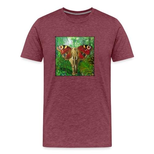 Schmettefant im Dschungel - Männer Premium T-Shirt