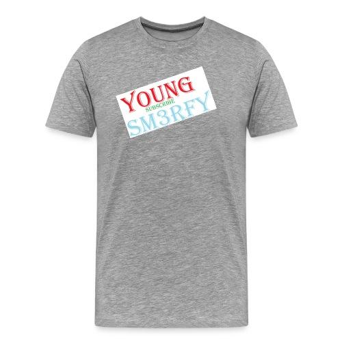 YOUNG SM3RFY - Mannen Premium T-shirt