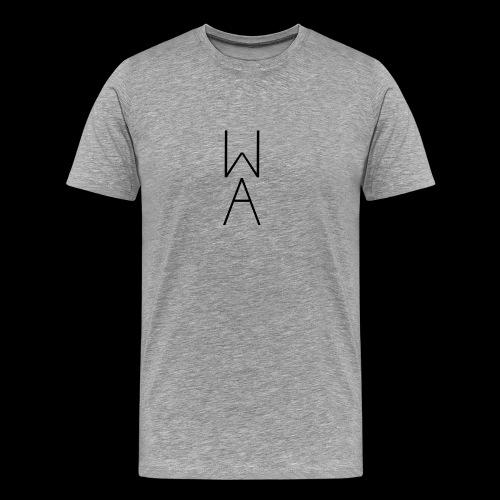 Minimal/Analog logo - Maglietta Premium da uomo