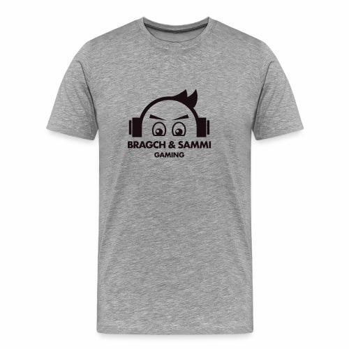 BS game black - Premium T-skjorte for menn