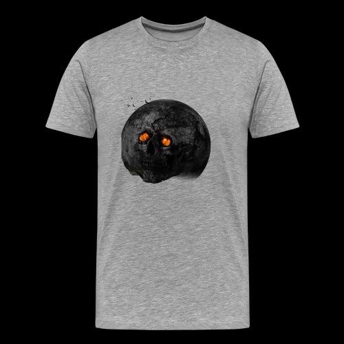 Tête de la terre brûlée - T-shirt Premium Homme