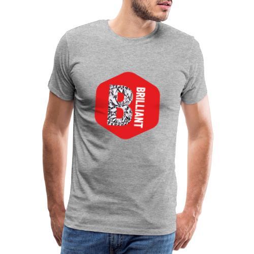 B brilliant red - Mannen Premium T-shirt